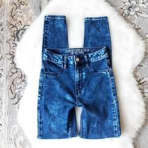 American Eagle | Sky High Jeggings Stretch Jeans